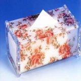 【宁波&可定制】压克力布板餐巾纸盒 亚克力抽纸盒YS5002