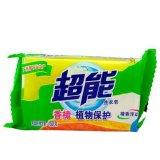 正品超能洗衣皂透明皂椰果柠檬草棕榈226g*2块肥皂24组