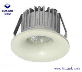 BOXTAR寶麗星開孔Ф40mm單顆3W圓形LED珠寶展櫃燈