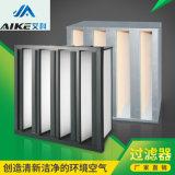 艾科耐高温过滤器,厢式铝合金框无隔板吸附空气过滤网