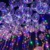 峯雲PVC廠家專業生產節慶用品發光波波球批發TPU悠悠發光球