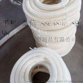 抛丸机专用耐磨损塑筋螺旋吸尘软管生产厂家