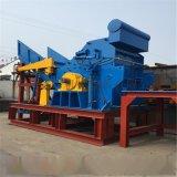 甘肃兰州破碎设备hj1600型油漆桶双轴撕碎机 大型废铁破碎机