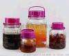 加厚无铅玻璃泡酒瓶 梅酒瓶 葡萄酒酿造瓶腌制泡菜坛子密封罐