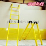双冠  电工专用3米绝缘单梯子生产厂家