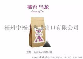 奶茶原料桃香乌龙茶三角茶包批发