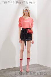 品牌折扣店洛可可18年夏季新款女装厂家库存直销