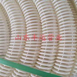 丰运供应PU塑筋螺旋增强管食品级颗粒输送软管