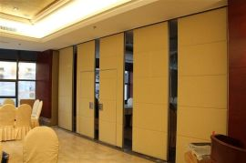 廣州銳旗隔斷廠家供應宴會廳推拉屏風