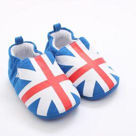 春秋热销0-2岁婴儿卡通学步棉鞋 宝宝家居早教鞋 厂家批发定做
