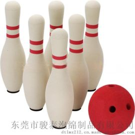诚信厂家优质优价供应环保保龄球(6瓶1球为一套)