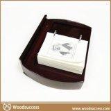豪华的含抽屉式木制带绒布日历盒