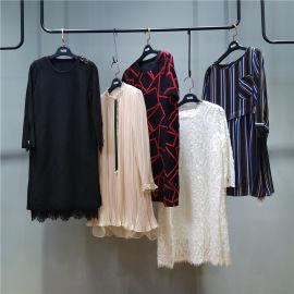 18年香港設計師品牌大碼女裝【今渡】春裝品牌折扣女裝走份批發