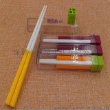 便携式彩色塑料折叠试管筷子