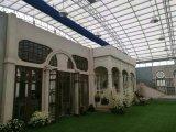 供应山东潍坊玻璃生态餐厅建设 潍坊连体棚建设 联动大棚建设