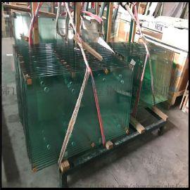廣東佛山玻璃加工廠 專業定做 10MM 鋼化玻璃 辦公室隔斷玻璃 安全鋼化玻璃