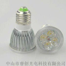 5W大功率LED射灯,E27螺口灯杯