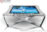 32寸卧式触摸屏客厅茶几 纯平面触摸桌  智能茶几 触摸屏智能终端系统