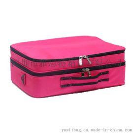 化妝包韓版專業化妝箱大容量防水多功能化妝品收納箱