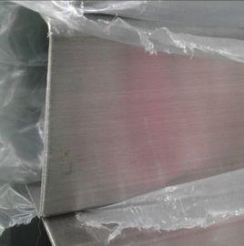 佛山不锈钢装饰管 顺德拉丝不锈钢方管 TP304装饰用管