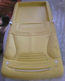 汽车模型 石膏模型雕刻