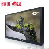 国瑞42寸LED高清工业级液晶监视器电视墙机柜金属外壳HDMI接口BNC