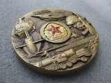 工厂定制纪念章徽章中国兵器 大铜章立体3D浮雕金属锌铝合金礼品现货批发