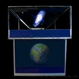 多媒体3D全息展示柜