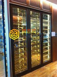 上海304私人酒窖酒柜 博古架