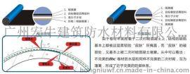 MAC高分子自粘橡膠復合防水卷材