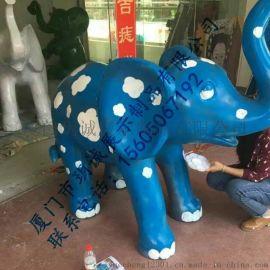 大象玻璃钢雕塑,玻璃钢浮雕,玻璃钢道具