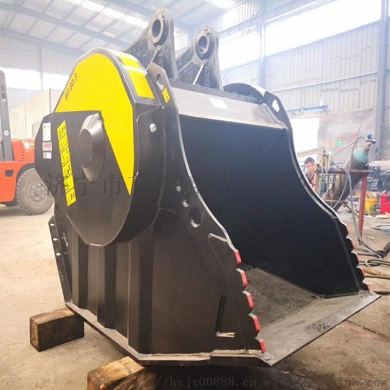 液压机械与元件 液压工程机械 混凝土破碎斗 移动式破碎机 挖掘机粉碎图片