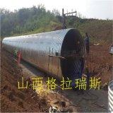山西太原金屬波紋管涵 鋼波紋管 公路橋樑涵管 排水排污管涵 鍍鋅鋼制波紋涵管