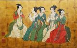 北京悦居珍品定做传统手工金箔漆画