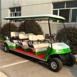 鹽城淮安8座電動高爾夫球車,景區觀光旅遊車,看房車