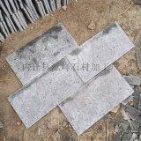 蘑菇石厂家,白木纹蘑菇石,墙面文化砖,河北板岩石材