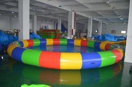 环岛体育加厚圆形充气水池