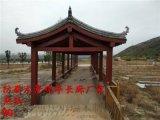 荣昌公园景区防腐木长廊修建安装公司