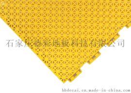广东德彩幼儿园小米格悬浮拼装地板专用地面材料