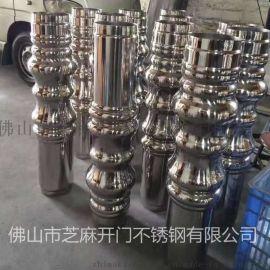 佛山KTV不锈钢茶几柱 量贩式仿葫芦型吧台柱 茶几脚定做