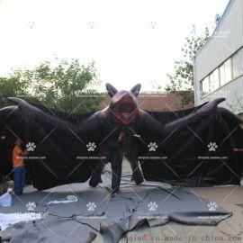 紅肚皮黑蜘蛛拼色 黑蜘蛛卡通巫婆氣模 商場開業酒吧吊頂裝飾道具