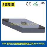 CBN焊接刀具 富耐克PCBN刀具加工轴承内孔、端面 立方氮化硼PCBN数控刀片