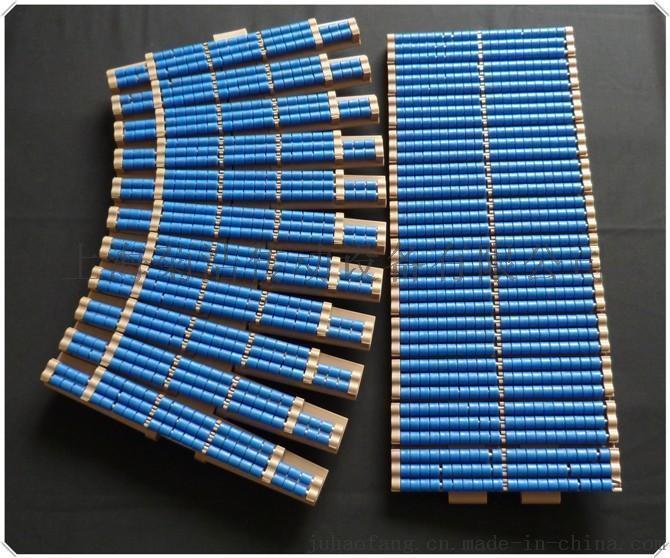 内置式橡胶垫塑料链板,HDS1200SG型号的塑料链板