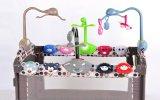 新生寶寶遊戲牀音樂盒玩具牀鈴掛件旋轉玩具架