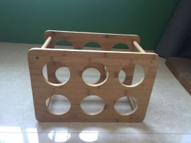 多功能酒架、Multifunctional wine rack、Bamboo handicrafts made in China、中国制造竹制工艺品