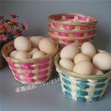 竹篮 六角网眼竹篮子|鸡蛋篮筐生产