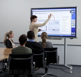 佛山学校应用65寸触摸教学一体机 前维护式 智能教育 多媒体教学