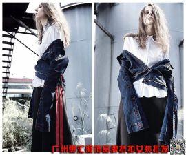 艾利欧17年春夏装女装品牌折扣 品牌折扣店货源