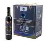 辽宁沈阳蓝莓酒果酒、辽宁沈阳野生蓝莓酒、忠芝蓝莓酒