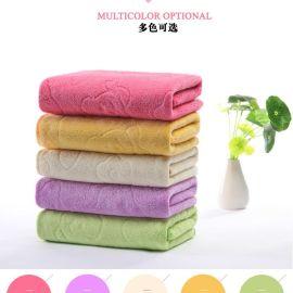 宇洁35*75cm超细纤维加厚印花毛巾